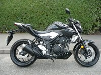 USED 2016 16 YAMAHA MT  MT-03 ABS Only 7 mls, As new, ABS