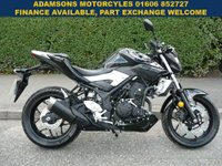 USED 2016 16 YAMAHA MT  MT-03 ABS Only Done 7 Miles,As new, ABS,Stunning Condition