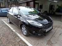USED 2014 14 FORD FIESTA 1.6 TITANIUM ECONETIC TDCI 5d 94 BHP 1 OWNER, FULL SERVICE HISTORY, 2 KEYS, DAB RADIO, KEYLESS ENTRY, TINTED REAR GLASS, USB AND AUX, CRUISE CONTROL, ZERO ROAD TAX