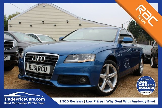 View our 2011 61 AUDI A4 2.0 TDI QUATTRO TECHNIK 4d 168 BHP