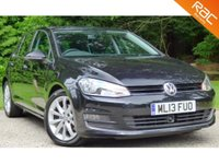 USED 2013 13 VOLKSWAGEN GOLF 2.0 TDI GT Hatchback 5dr (start/stop) VWHISTORY+1 OWNER+RAC WARRANTY