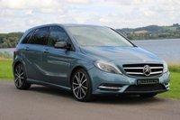 2012 MERCEDES-BENZ B CLASS 1.6 B200 BLUEEFFICIENCY SPORT 5d AUTO 156 BHP £13990.00