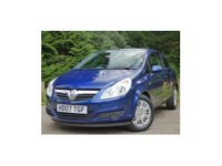 USED 2007 07 VAUXHALL CORSA 1.2 i 16v Club 3dr ONLY 12K+F/S/H+RAC WARRANTY!