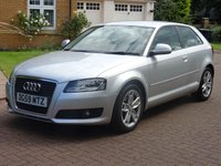 USED 2009 59 AUDI A3 1.9 TDI E SPORT 3d 103 BHP EXCELLENT EXAMPLE***  Climate control***   TDI Sport***  17 inch Alloys***