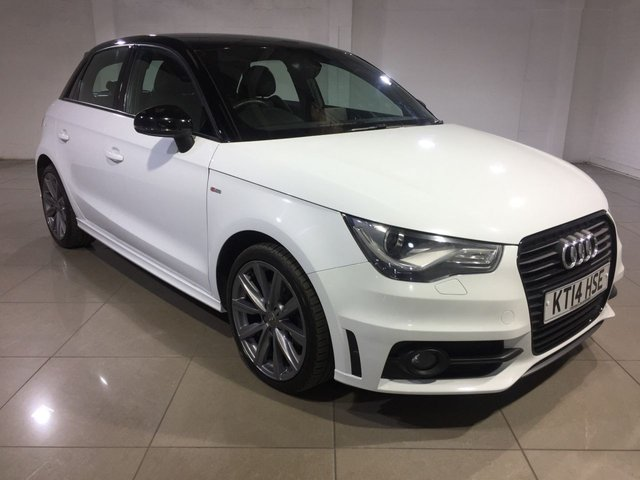 View our 2014 14 AUDI A1 1.6 SPORTBACK TDI S LINE STYLE EDITION 5d 103 BHP