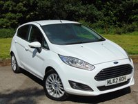 USED 2013 62 FORD FIESTA 1.0 TITANIUM 5d 124 BHP LOW MILEAGE AND FULL AA INSPECTION
