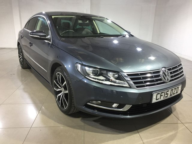 View our 2015 15 VOLKSWAGEN CC 2.0 GT TDI BLUEMOTION TECHNOLOGY 4d 138 BHP