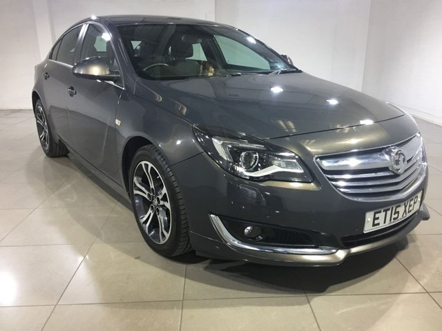 View our 2015 15 VAUXHALL INSIGNIA 2.0 LIMITED EDITION CDTI 5d AUTO 160 BHP