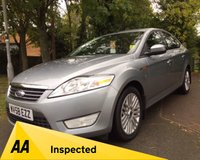 USED 2008 58 FORD MONDEO 2.0 GHIA 145 5d 144 BHP