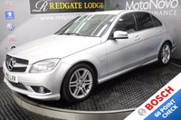 USED 2010 10 MERCEDES-BENZ C CLASS C220 CDI BLUEEFFICIENCY SPORT 4d AUTO 170 BHP