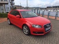 USED 2009 58 AUDI A3 1.6 MPI SPORT 3d 101 BHP FACELIFT MODEL! FULL SERVICE HISTORY!