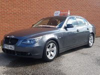 2003 BMW 5 SERIES 3.0 530D SE 4d AUTO SAT NAV  -  BLACK LEATHER HEATED SEATS £3695.00