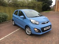 USED 2012 62 KIA PICANTO 1.0 2 5d 68 BHP Zero Road Tax +2019 Warranty