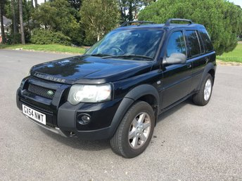 2004 LAND ROVER FREELANDER 2.0 TD4 HSE STATION WAGON 5d 110 BHP £2450.00