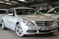 USED 2012 62 MERCEDES-BENZ E CLASS 3.0 E350 CDI BLUEEFFICIENCY SE 2d AUTO 265 BHP