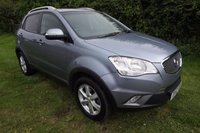 2012 SSANGYONG KORANDO 2.0 ES TDi 5d AUTO 1 OWNER-FSH-LEATHER £8995.00