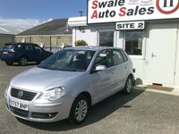 USED 2007 57 VOLKSWAGEN POLO 1.2 S 68 BHP £29 PER WEEK OVER 3 YEARS, SEE FINANCE LINK BELOW