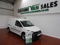 USED 2014 14 VOLKSWAGEN CADDY MAXI 1.6 C20 TDI  101 BHP LWB TWIN SIDE DOORS CHIOCE ONE OWNER WITH FSH LOW MILES