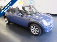 USED 2005 05 MINI CONVERTIBLE 1.6 COOPER 2d 114 BHP OVER £3,000 WORTH OF FACTORY EXTRAS, GREAT SERVICE HISTORY