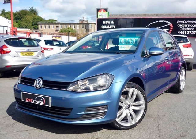 2013 63 VOLKSWAGEN GOLF 1.6 SE TDI BLUEMOTION TECHNOLOGY 5d 103 BHP