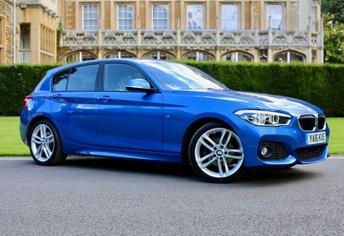 2016 BMW 1 SERIES 2.0 120D M SPORT 5d AUTO 188 BHP £18990.00