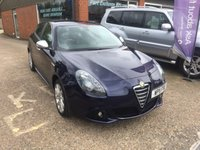 USED 2011 11 ALFA ROMEO GIULIETTA 2.0 JTDM-2 VELOCE 5d 170 BHP DIESEL MANUAL IN MET BLUE APPROVED CARS ARE PLEASED TO OFFER THIS  ALFA ROMEO GIULIETTA 2.0 JTDM-2 VELOCE 5 DOOR 170 BHP DIESEL MANUAL IN METALLIC BLUE WITH A DOCUMENTED SERVICE HISTORY AND A GREAT SPEC INCLUDING HALF LEATHER INTERIOR,2 KEYS,6 SPEED MANUAL GEARBOX,ABS,ALLOYS,CD,CRUISE CONTROL AND MUCH MORE.