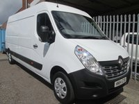 2014 RENAULT MASTER LM35 DCi 125 Business Plus LWB *AIR CON*ONLY 22000 MILES* £10995.00