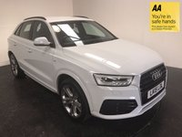 USED 2015 15 AUDI Q3 2.0 TDI S LINE 5d 148 BHP HISTORY-ONE OWNER-BLUETOOTH-LEATHER