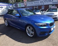 2014 BMW 2 SERIES 2.0 220D M SPORT 2d 181 BHP £16985.00