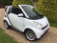 USED 2010 10 SMART FORTWO CABRIO 1.0 PASSION MHD 2d AUTO 71 BHP