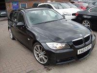 2007 BMW 3 SERIES 2.0 320D M SPORT 5d 161 BHP NEW SHAPE £2700.00