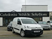 USED 2014 14 CITROEN BERLINGO 1.6 625 LX L1 HDI 1d 74 BHP ONE FORMER KEEPER with SERVICE HISTORY & JULY 18 MOT