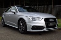 USED 2014 14 AUDI A3 1.4 TFSI S LINE 5d 121 BHP A STUNNING S-LINE A3 5 DOOR WHICH HAS HAD ONE OWNER AND COMES WITH A FULL HISTORY!!!