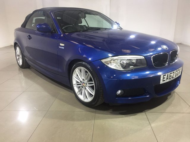 View our 2012 62 BMW 1 SERIES 2.0 120D M SPORT 2d 175 BHP