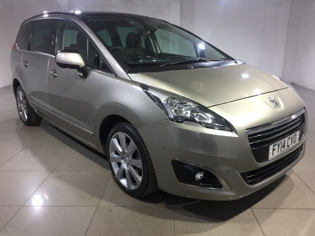 View our 2014 14 PEUGEOT 5008 1.6 HDI ALLURE 5d 115 BHP