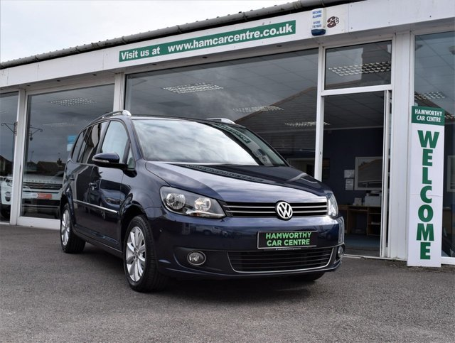 2012 62 VOLKSWAGEN TOURAN 2.0 SPORT TDI BLUEMOTION TECHNOLOGY 5d 138 BHP