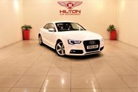 USED 2012 12 AUDI A5 2.0 TDI S LINE S/S 2d 177 BHP + EXCELLENT CONDITION IN/OUT+ RAC DEALER