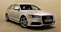 USED 2012 62 AUDI A6 2.0 AVANT TDI S LINE 5d 175 BHP + 1 PREV OWNER + SERVICE HISTORY + SAT NAV + AIR CON + LEATHER SEATS
