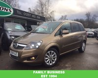 USED 2014 14 VAUXHALL ZAFIRA 1.8 DESIGN 5d 138 BHP ONLY 4,969 MILES!! + 1 OWNER!!