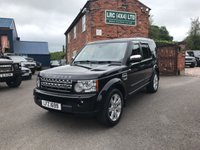2010 LAND ROVER DISCOVERY 3.0 4 SDV6 XS 5d AUTO 245 BHP £19995.00