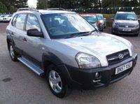 2007 HYUNDAI TUCSON 2.0 GSI CRTD 4WD 5d 138 BHP £2750.00