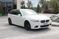 USED 2011 61 BMW 5 SERIES 530D M SPORT TOURING 3.0 5d AUTO  PRO NAV - DVD - FSH - BIG SPEC