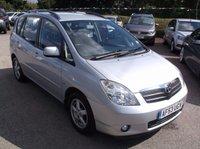 2003 TOYOTA COROLLA 1.8 VERSO T3 VVT-I 5d AUTO 133 BHP £1750.00