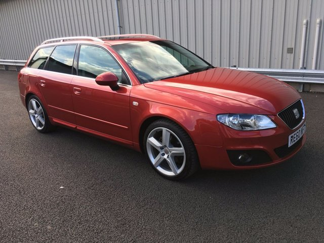 2010 60 SEAT EXEO 2.0 SPORT TECH CR TDI 5d 141 BHP ESTATE