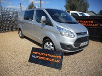 USED 2015 15 FORD TRANSIT CUSTOM 2.2 290 LIMITED LR P/V 6d 125 BHP DOUBLE CAB 6 SEATS