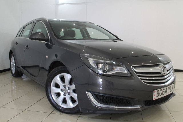 View our 2015 64 VAUXHALL INSIGNIA 2.0 TECH LINE CDTI ECOFLEX S/S 5DR 138 BHP