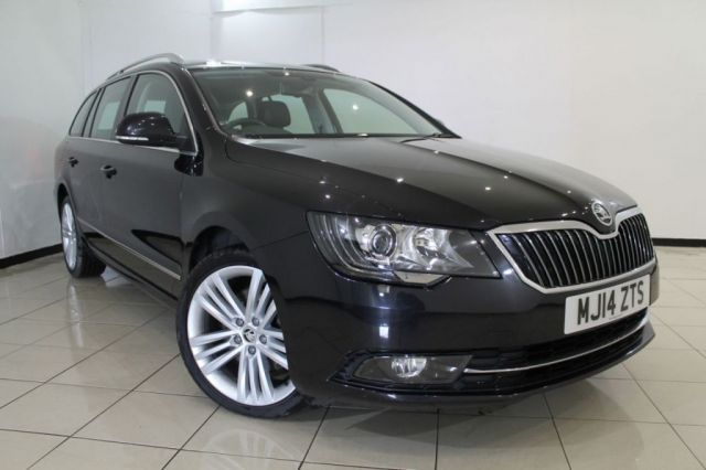 View our 2014 14 SKODA SUPERB 2.0 ELEGANCE TDI CR 5DR 168 BHP