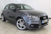 USED 2012 62 AUDI A1 1.6 SPORTBACK TDI S LINE 5DR 105 BHP HALF LEATHER SEATS + AIR CONDITIONING + BLUETOOTH + MULTI FUNCTION WHEEL + RADIO/CD + 17 INCH ALLOY WHEELS