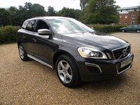 USED 2012 62 VOLVO XC60 2.4 D5 R-DESIGN AWD 5d AUTO 212 BHP Leather Seats. Rear DVD Player. Tinted Windows