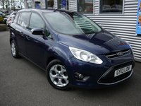 USED 2013 13 FORD GRAND C-MAX 2.0 GRAND ZETEC TDCI 5d AUTO 138 BHP